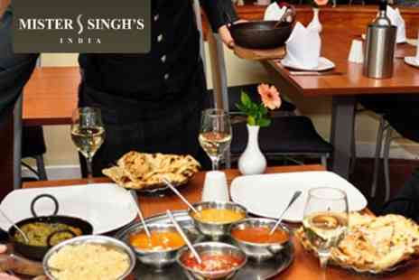 Mister Singhs India - Haggis Pakora Masterclass, Three Course Meal and Drink  Save 64%