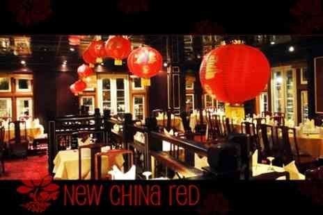 New China Red - Chinese Cuisine for Two - Save 60%