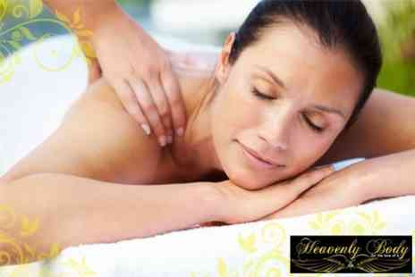 Heavenly Body - Choice of a Back, Neck and Shoulder, Full Body or Indian Head Massage plus an Express Manicure - Save 62%