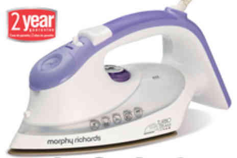Morphy Richards - Morphy Richards Turbosteam Dual Zone - Save 54%