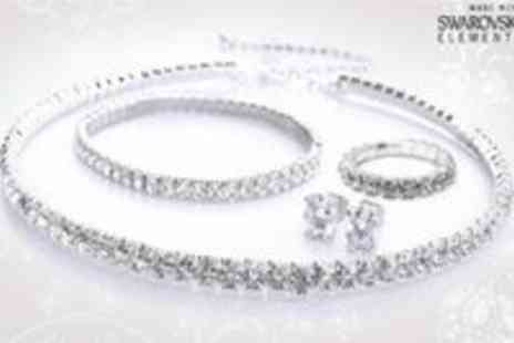 Antwerp Jewels - Swarovski Elements 4 Piece Gift Set Ideal Christmas Present - Save 85%
