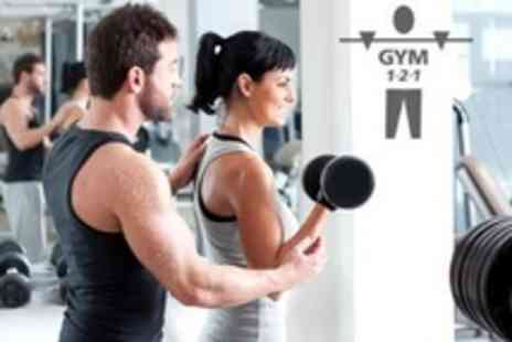 GYM 1-2-1 - Personal Training Two Hours Plus Nutritional Advice - Save 50%