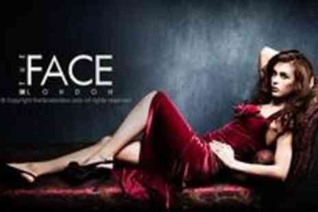 The Face London - Six hours of celebrity treatment including a makeover, photoshoot, hand massage, facial, manicure - Save 50%