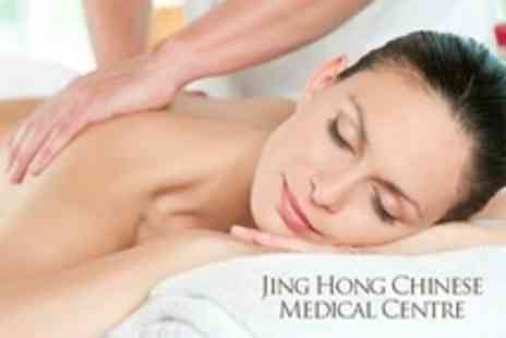 Jing Hong Chinese Medical Centre - One Hour Chinese Massage or Combined Massage and Acupuncture Session - Save 57%