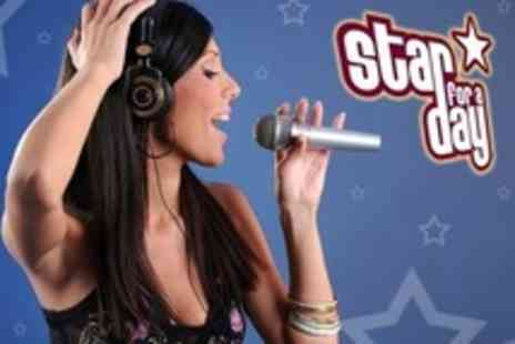 Star For A Day - Recording Studio Party For Up to Ten With CD and Photo - Save 84%