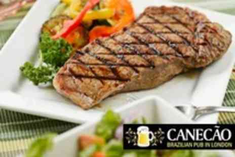 Canecao - Three Course Brazilian Meal  - Save 54%