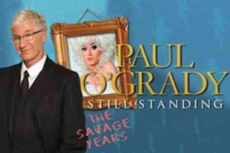 See Tickets - An Evening With Paul O Grady One to Four Top Price Tickets - Save 50%