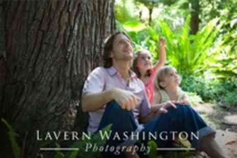 Lavern Washington Photography - Outdoor Family Photoshoot With Mounted Prints and Canvas - Save 50%