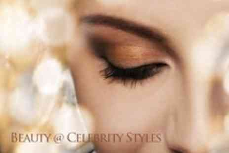 Beauty @ Celebrity Styles - Eyelash Extensions  With Eyebrow and Lash Tint Plus Brow Shape - Save 52%