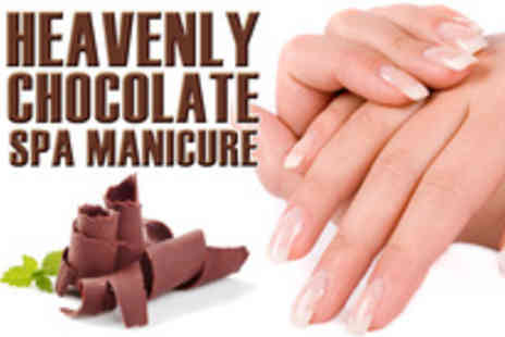 Me Time Beauty Salon - Heavenly Chocolate Spa Manicure - Save 54%
