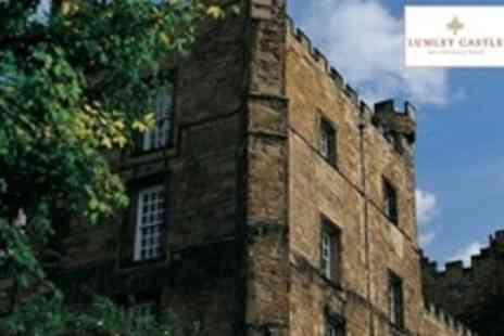Lumley Castle Hotel - One Night Stay For Two With Breakfast and a Bottle of Wine - Save 11%