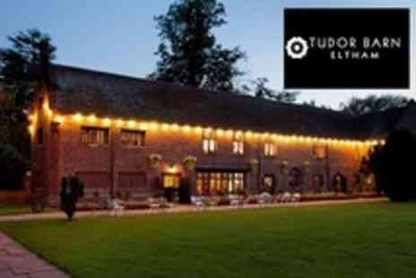 Tudor Barn Eltham - Three Courses of British Cuisine For Two With Glass of Wine Each - Save 51%