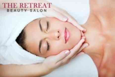 The Retreat Beauty Salon - Choice of Decleor Facial Plus Head Massage for One - Save 82%
