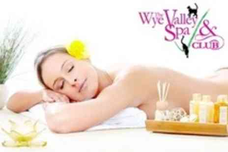 Wye Valley Spa - Spa Day For One With Shellac Manicure, Facial and Head and Neck Massage - Save 60%