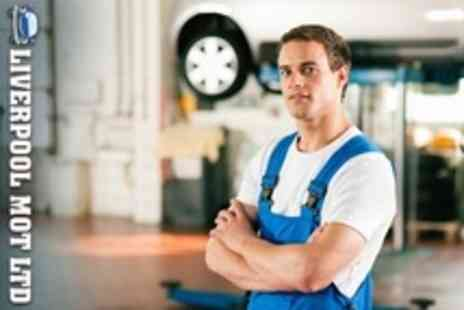 Liverpool MOT - MOT With Wheel Alignment and Vacuum - Save 56%