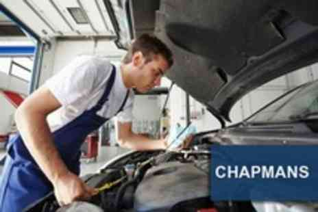 Chapmans of Leicester - MOT With Car Service and Mini Valet Plus Oil and Filter Change - Save 86%