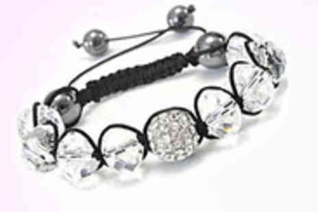 Antwerp Jewels - Swarovski Elements Crystal and Clear Bead Bracelet - Save 94%