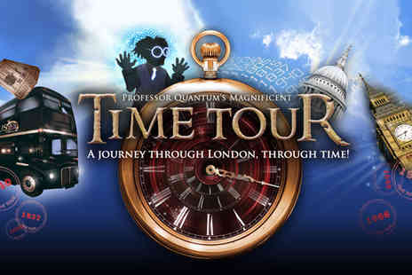 Time Tour - Time Tour of London family ticket on an exciting, theatrical sightseeing experience - Save 50%