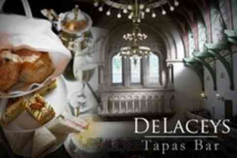 De Laceys Tapas Bar - Afternoon Tea For Two - Save 60%
