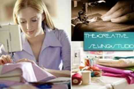 The Creative Sewing Studio - Three Hour Sewing Machine Class - Save 62%