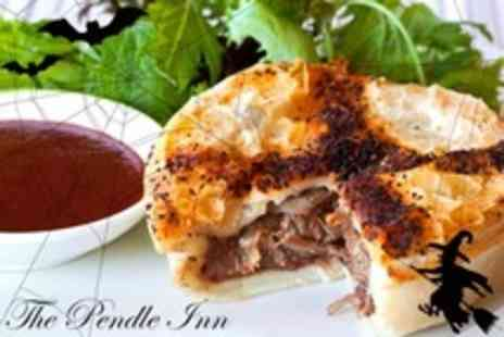The Pendle Inn - Book of Spells Menu with Two Courses of Halloween Fare Two With Wine - Save 55%