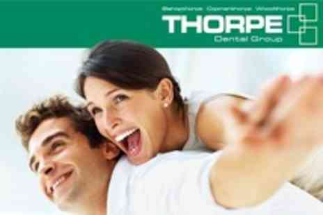 Thorpe Dental Group - Dental Check Up, X Rays, Scale and Polish For One - Save 74%