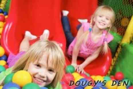 Dougys Den - Soft Play For Two Kids Plus Coffee For Two Adults - Save 67%