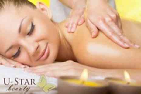 U Star Beauty - Elemis Facial, Massage and Express Mani Pedi - Save 40%
