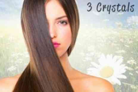 3 Crystals - Brazilian Blow Dry and Cut - Save 18%