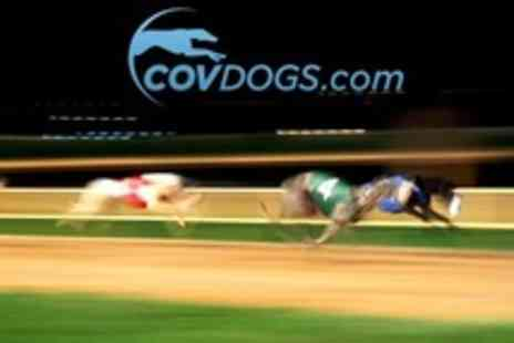 Coventry Dogs - Greyhound Racing With Racecard, Burger and Chips For Two - Save 65%