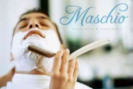 Maschio - Cut Throat Wet Shave With Hot Towel - Save 20%