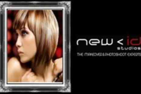 New ID Studios - Half Head Highlights and Blowdry - Save 79%