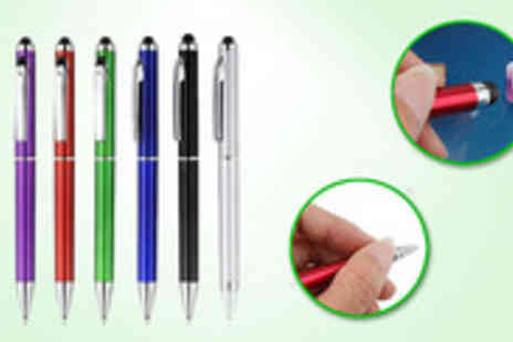 My Touch Screen - Write with ease on screens notebooks and paper with this all-in-one stylus and ballpoint pen - Save 89%