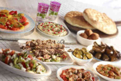 My Big Fat Greek - A mezze banquet for 2 and glass of wine - Save 52%