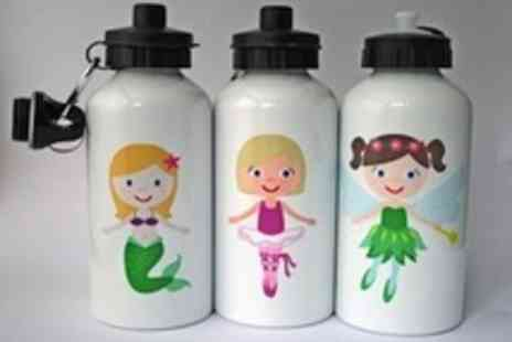 Polka Dot Plates - Personalised kids water bottles  the ideal gift for Christmas - Save 50%