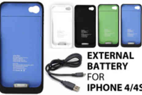 Thats Wow - An iPhone 4 or 4s battery boosting case - Save 77%