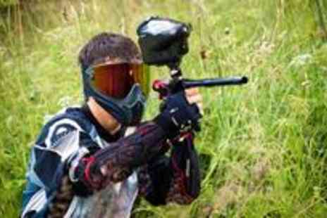 Dangerzone - Full days paintballing for up to twenty people including lunch and 100 paintballs each - Save 97%