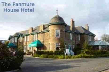 Panmure House Hotel - One Night Stay For Two With Two Course Evening Meal and Breakfast - Save 56%