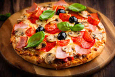 Trattoria Sapori - An Italian meal for 2 including  half a metre of pizza and a glass of Prosecco each - Save 52%