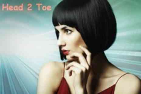 Head 2 Toe - Restyle Cut and Finish Plus Conditioning Treatment - Save 60%
