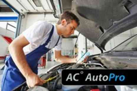A/C AutoPro - Car Air-Conditioning Winter Service Gas Top-Up, Anti-Bacterial Treatment and Acid Flush - Save 70%