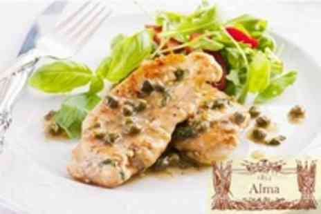 The Alma Tavern - Two Course Pub Meal For Two - Save 62%
