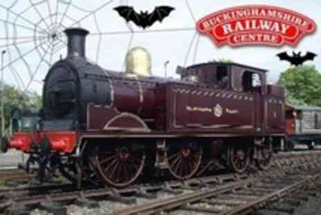 Buckinghamshire Railway Centre - Witches and Wizards Halloween Event with Family Ticket - Save 56%