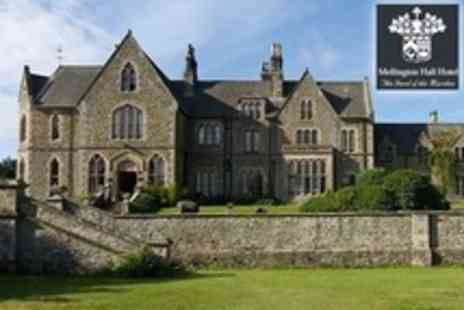 Mellington Hall Hotel - Champagne or Mulled Wine Afternoon Tea For Two - Save 52%
