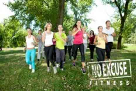 No Excuse Fitness - Boot Camp Five Sessions - Save 76%