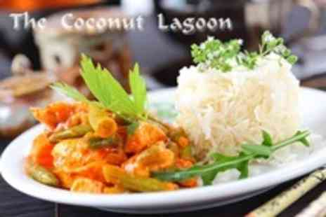 The Coconut Lagoon - Three Courses of South Indian Cuisine For Two - Save 63%