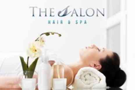 The Salon Hair and Spa - Choice of Beauty Treatments Such as Full Body Massage and Hot Stone Facial - Save 68%