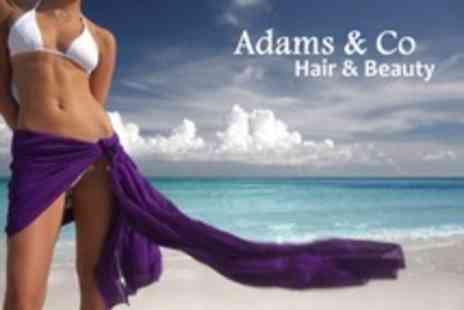 Adams and Co Hair and Beauty - One OMG Spray Tan Sessions - Save 50%