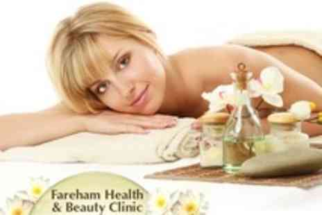 Fareham Health & Beauty - Massage and Facial Plus File and Polish - Save 64%