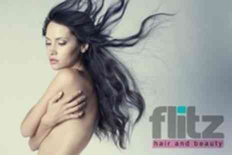 Flitz Hair and Beauty - Cut and Finish With Conditioning Argan Oil Treatment Plus Use of Spa Facilities - Save 72%
